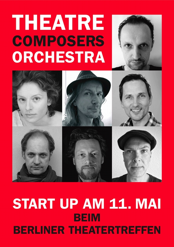Theatre Composers Orchestra Plakat 600